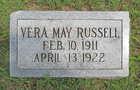 RUSSELL, VERA MAY - Benton County, Arkansas | VERA MAY RUSSELL - Arkansas Gravestone Photos