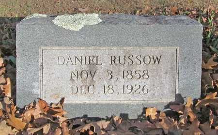 RUSSOW, DANIEL - Benton County, Arkansas | DANIEL RUSSOW - Arkansas Gravestone Photos