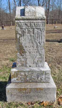 RYAN, SUSAN E - Benton County, Arkansas | SUSAN E RYAN - Arkansas Gravestone Photos