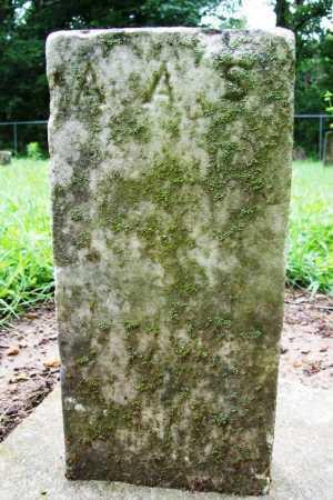 S., A. A. - Benton County, Arkansas | A. A. S. - Arkansas Gravestone Photos