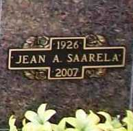 SAARELA, JEAN AUDREY - Benton County, Arkansas | JEAN AUDREY SAARELA - Arkansas Gravestone Photos