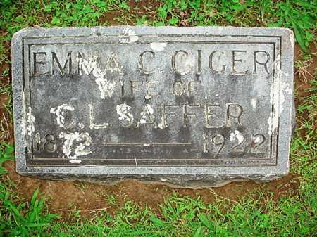 SAFFER, EMMA C. - Benton County, Arkansas | EMMA C. SAFFER - Arkansas Gravestone Photos