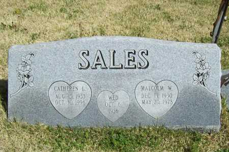 SALES, MALCOLM W. - Benton County, Arkansas | MALCOLM W. SALES - Arkansas Gravestone Photos