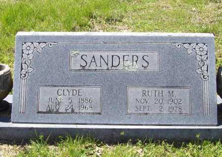 SANDERS, CLYDE - Benton County, Arkansas | CLYDE SANDERS - Arkansas Gravestone Photos