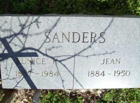 SANDERS, JEAN - Benton County, Arkansas | JEAN SANDERS - Arkansas Gravestone Photos