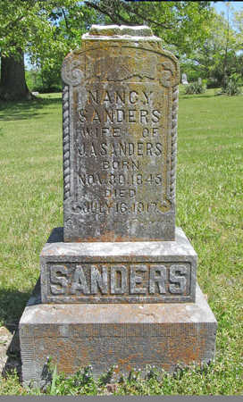 SANDERS, NANCY - Benton County, Arkansas | NANCY SANDERS - Arkansas Gravestone Photos