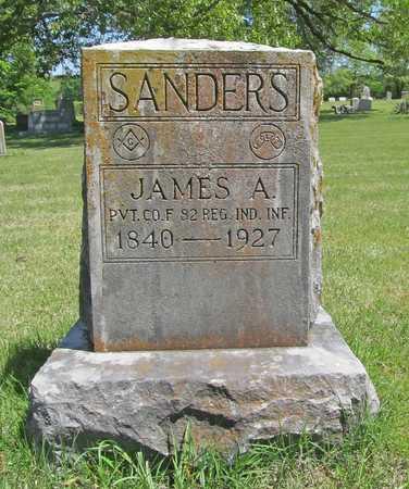 SANDERS (VETERAN UNION), JAMES A - Benton County, Arkansas | JAMES A SANDERS (VETERAN UNION) - Arkansas Gravestone Photos
