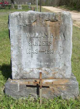 SANDERS (VETERAN), WILLIAM N - Benton County, Arkansas | WILLIAM N SANDERS (VETERAN) - Arkansas Gravestone Photos