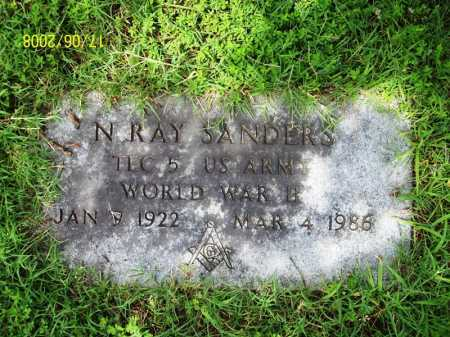 SANDERS (VETERAN WWII), NORMAN RAY - Benton County, Arkansas | NORMAN RAY SANDERS (VETERAN WWII) - Arkansas Gravestone Photos