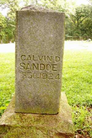 SANDOE, CALVIN D - Benton County, Arkansas | CALVIN D SANDOE - Arkansas Gravestone Photos