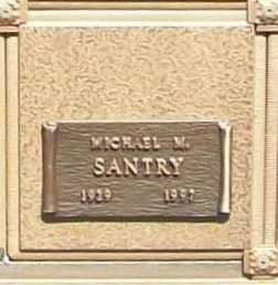 SANTRY, MICHAEL M. - Benton County, Arkansas | MICHAEL M. SANTRY - Arkansas Gravestone Photos