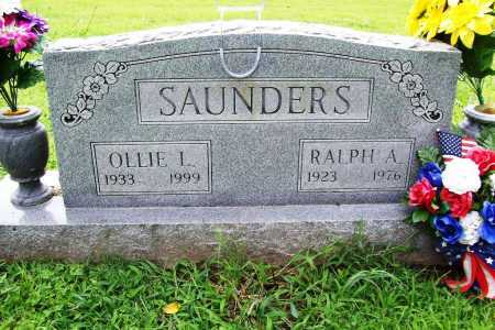 SAUNDERS, OLLIE LORONE - Benton County, Arkansas | OLLIE LORONE SAUNDERS - Arkansas Gravestone Photos