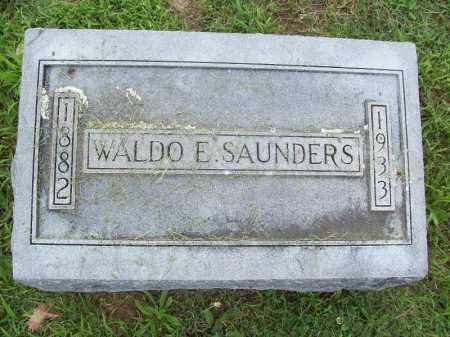 SAUNDERS, WALDO E. - Benton County, Arkansas | WALDO E. SAUNDERS - Arkansas Gravestone Photos