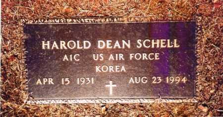 SCHELL (VETERAN KOR), HAROLD DEAN - Benton County, Arkansas | HAROLD DEAN SCHELL (VETERAN KOR) - Arkansas Gravestone Photos