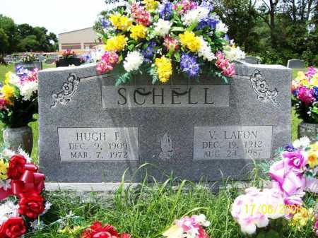 SCHELL, HUGH FRANKLIN - Benton County, Arkansas | HUGH FRANKLIN SCHELL - Arkansas Gravestone Photos
