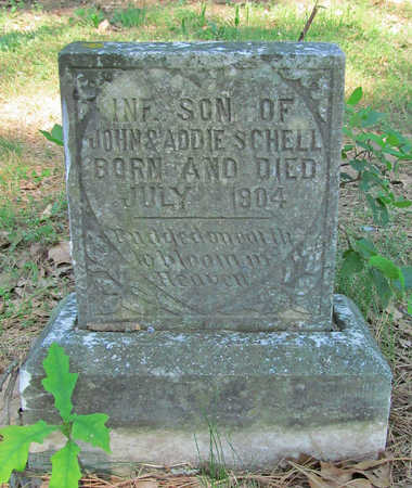 SCHELL, INFANT SON - Benton County, Arkansas | INFANT SON SCHELL - Arkansas Gravestone Photos