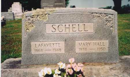 HALL SCHELL, MARY MAGDALENE - Benton County, Arkansas | MARY MAGDALENE HALL SCHELL - Arkansas Gravestone Photos