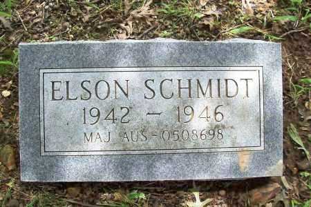 SCHMIDT, ELSON - Benton County, Arkansas | ELSON SCHMIDT - Arkansas Gravestone Photos