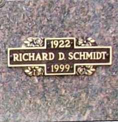 "SCHMIDT, RICHARD D. ""DICK"" - Benton County, Arkansas 