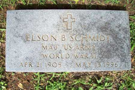 SCHMIDT (VETERAN WWII), ELSON B. - Benton County, Arkansas | ELSON B. SCHMIDT (VETERAN WWII) - Arkansas Gravestone Photos