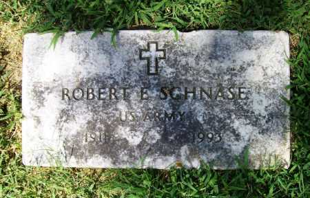 SCHNASE (VETERAN), ROBERT E. - Benton County, Arkansas | ROBERT E. SCHNASE (VETERAN) - Arkansas Gravestone Photos