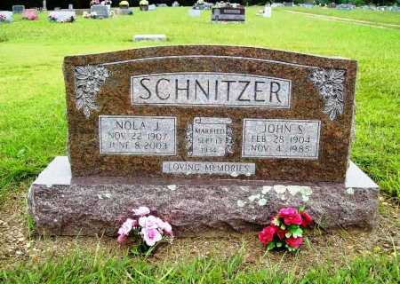 SCHNITZER, JOHN S. - Benton County, Arkansas | JOHN S. SCHNITZER - Arkansas Gravestone Photos