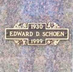 SCHOEN, EDWARD D. - Benton County, Arkansas | EDWARD D. SCHOEN - Arkansas Gravestone Photos