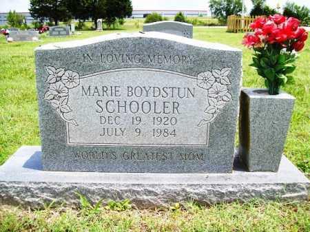 BOYDSTUN SCHOOLER, MARIE - Benton County, Arkansas | MARIE BOYDSTUN SCHOOLER - Arkansas Gravestone Photos