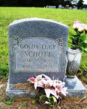 SCHOTT, GOLDA LUCY - Benton County, Arkansas | GOLDA LUCY SCHOTT - Arkansas Gravestone Photos