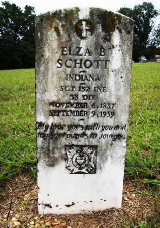 SCHOTT (VETERAN UNION), ELZA B - Benton County, Arkansas | ELZA B SCHOTT (VETERAN UNION) - Arkansas Gravestone Photos