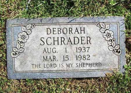 SCHRADER, DEBORAH - Benton County, Arkansas | DEBORAH SCHRADER - Arkansas Gravestone Photos