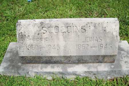 SCOGGINS, JONAS - Benton County, Arkansas | JONAS SCOGGINS - Arkansas Gravestone Photos