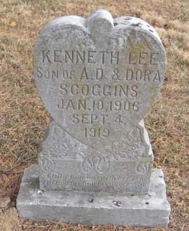 SCOGGINS, KENNETH LEE - Benton County, Arkansas | KENNETH LEE SCOGGINS - Arkansas Gravestone Photos