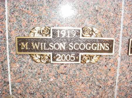 SCOGGINS, M. WILSON - Benton County, Arkansas | M. WILSON SCOGGINS - Arkansas Gravestone Photos
