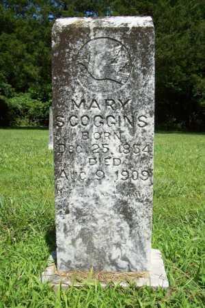 SCOGGINS, MARY - Benton County, Arkansas | MARY SCOGGINS - Arkansas Gravestone Photos