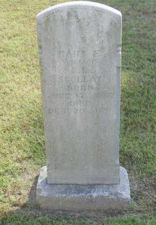 SCOLLAY, MARY ELLEN - Benton County, Arkansas | MARY ELLEN SCOLLAY - Arkansas Gravestone Photos