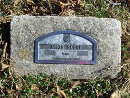 SCOTT, AMOS - Benton County, Arkansas | AMOS SCOTT - Arkansas Gravestone Photos