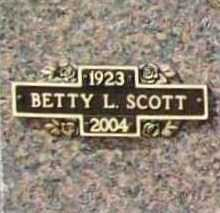 BARTLETT SCOTT, BETTY LOU - Benton County, Arkansas | BETTY LOU BARTLETT SCOTT - Arkansas Gravestone Photos
