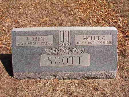 SCOTT, MOLLIE C. - Benton County, Arkansas | MOLLIE C. SCOTT - Arkansas Gravestone Photos