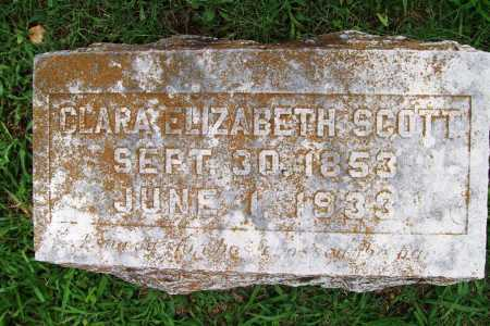 SCOTT, CLARA ELIZABETH - Benton County, Arkansas | CLARA ELIZABETH SCOTT - Arkansas Gravestone Photos