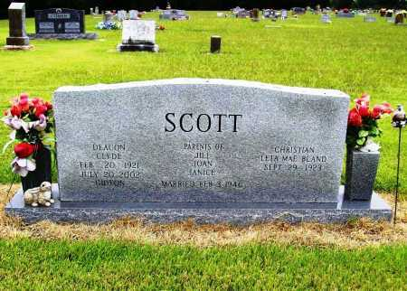 SCOTT, CLYDE - Benton County, Arkansas | CLYDE SCOTT - Arkansas Gravestone Photos