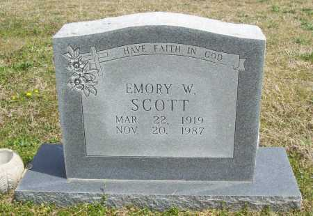 SCOTT, EMORY W. - Benton County, Arkansas | EMORY W. SCOTT - Arkansas Gravestone Photos
