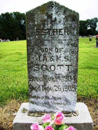 SCOTT, ESTHER - Benton County, Arkansas | ESTHER SCOTT - Arkansas Gravestone Photos