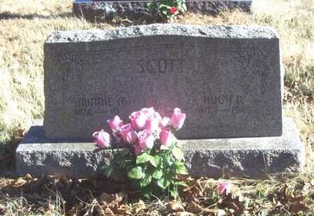 SCOTT, MINNIE A. - Benton County, Arkansas | MINNIE A. SCOTT - Arkansas Gravestone Photos