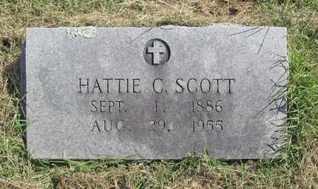 SCOTT, HATTIE C. - Benton County, Arkansas | HATTIE C. SCOTT - Arkansas Gravestone Photos