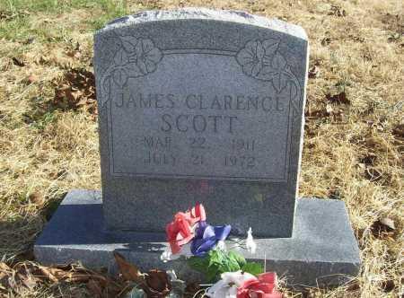 SCOTT, JAMES CLARENCE - Benton County, Arkansas | JAMES CLARENCE SCOTT - Arkansas Gravestone Photos