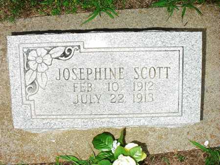 SCOTT, JOSEPHINE - Benton County, Arkansas | JOSEPHINE SCOTT - Arkansas Gravestone Photos