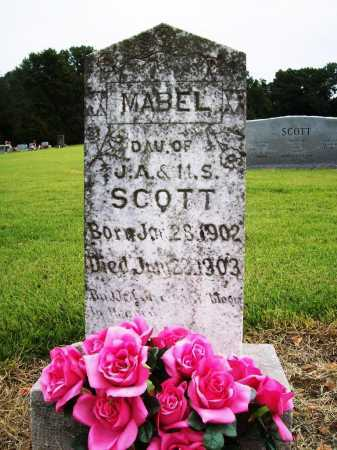 SCOTT, MABEL - Benton County, Arkansas | MABEL SCOTT - Arkansas Gravestone Photos