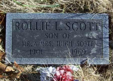 SCOTT, ROLLIE L. - Benton County, Arkansas | ROLLIE L. SCOTT - Arkansas Gravestone Photos