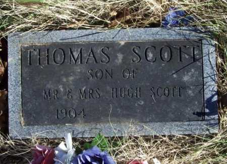 SCOTT, THOMAS - Benton County, Arkansas | THOMAS SCOTT - Arkansas Gravestone Photos